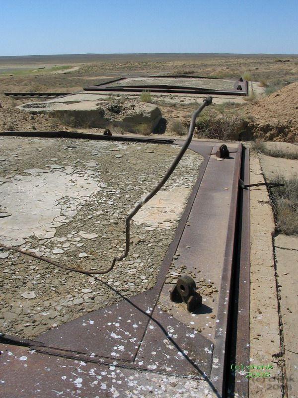 Russian abandoned missile launch site 4