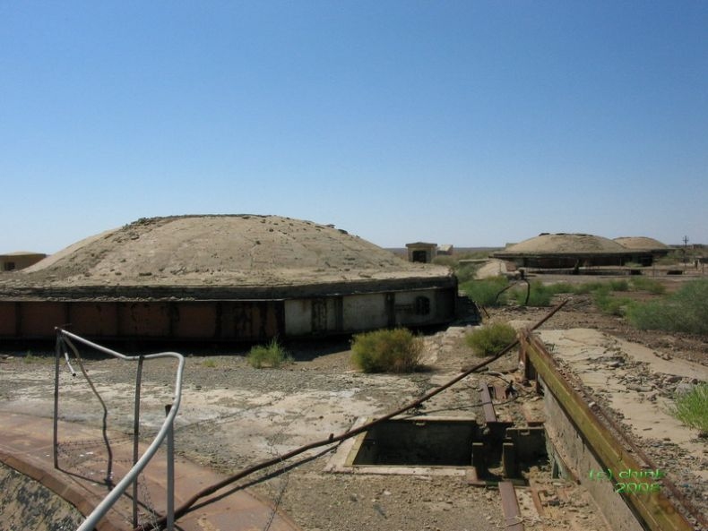 Russian abandoned missile launch site 10