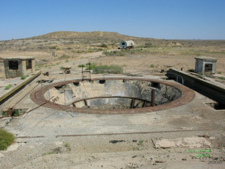 Russian abandoned missile launch site 13