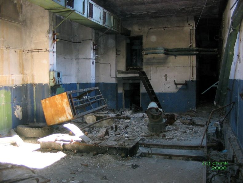 Russian abandoned missile launch site 22