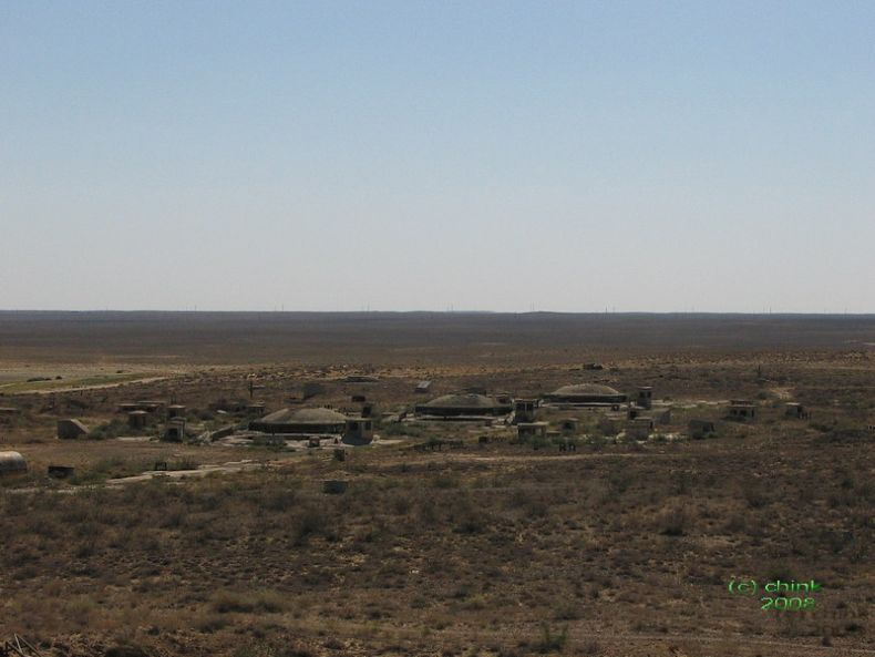 Russian abandoned missile launch site 45