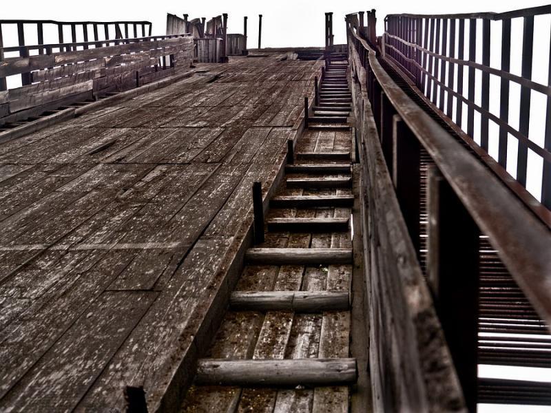 Abandoned Ski Jump In Murmansk 5