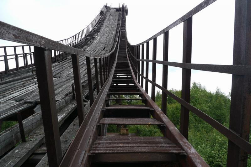 Abandoned Ski Jump In Murmansk 6