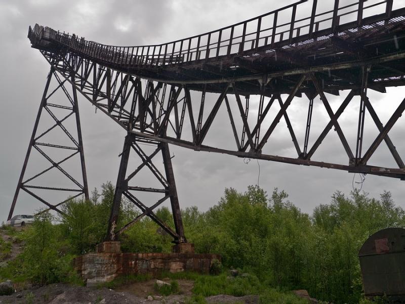 Abandoned Ski Jump In Murmansk 9