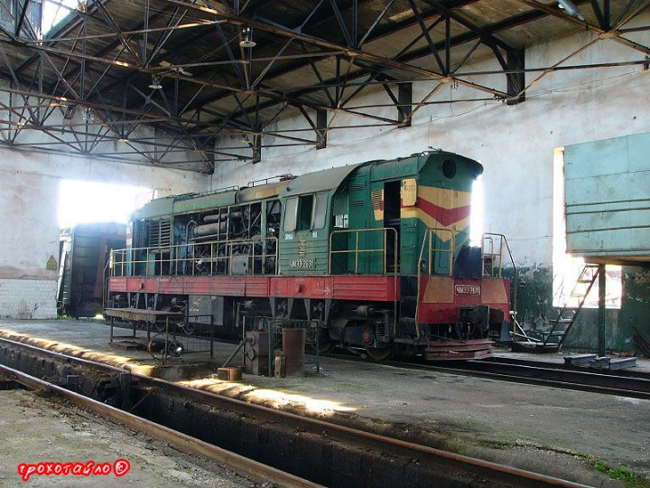 abandoned soivet trains in Sukhumi 22
