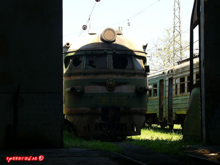 abandoned soivet trains in Sukhumi 24