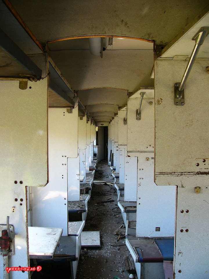 abandoned soivet trains in Sukhumi 40
