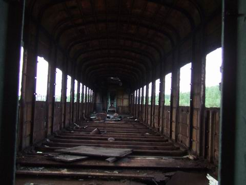 abandoned soviet trains in belarus 13