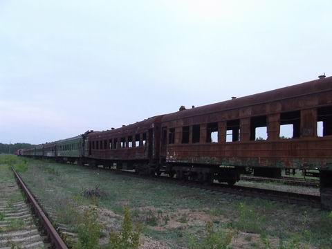 abandoned soviet trains in belarus 25