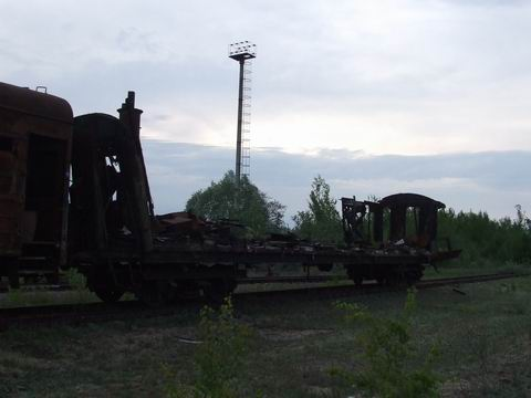 abandoned soviet trains in belarus 26