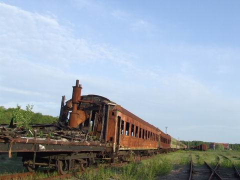 abandoned soviet trains in belarus 42