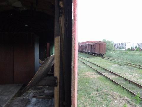 abandoned soviet trains in belarus 7
