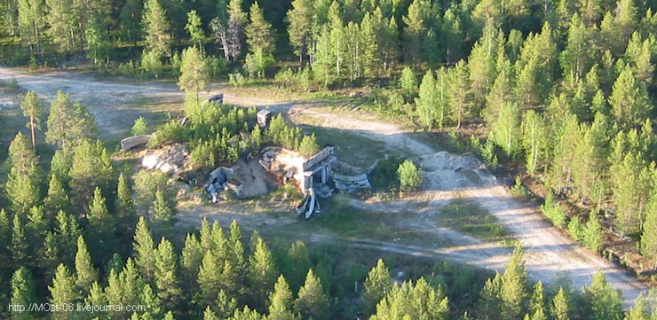 Russian abanoned SAM site 11