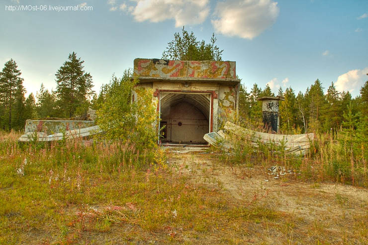 Abandoned Anti-Aircraft Missile Launching Site 13