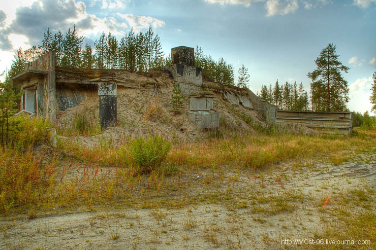 Russian abanoned SAM site 14