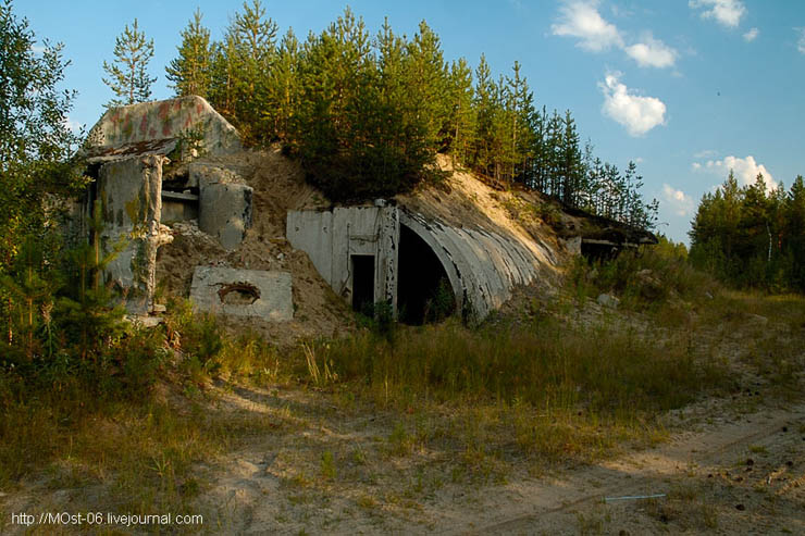 Russian abanoned SAM site 15