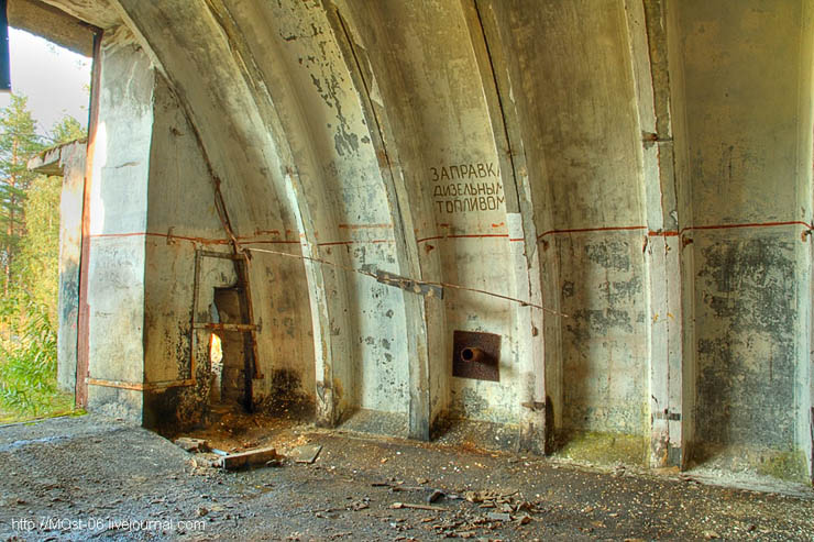 Abandoned Anti-Aircraft Missile Launching Site 18
