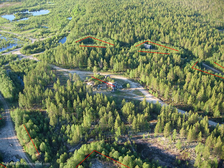 Russian abanoned SAM site 7