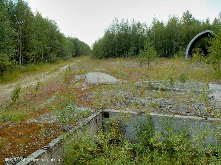 Russian abanoned SAM site 8