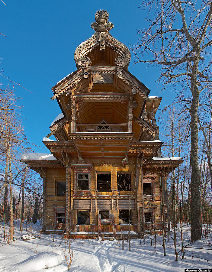 Russian wooden architecture 10