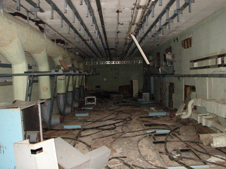 Abanoned Military Signal Office Centre 29