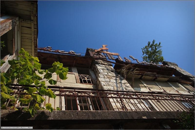 Abandoned Russian palace in Abkhazia 17