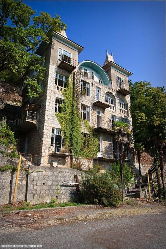 Abandoned Russian palace in Abkhazia 19
