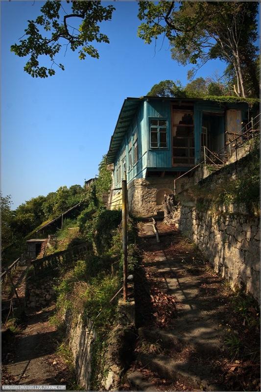 Abandoned Russian palace in Abkhazia 21