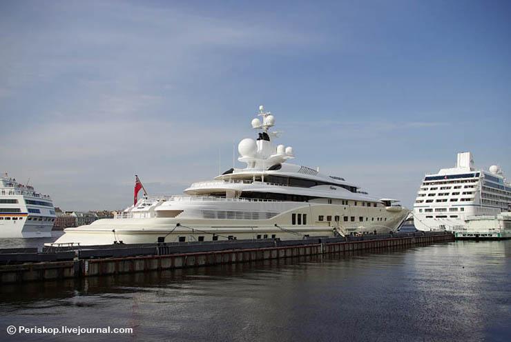 Boat of Roman Abramovich, Russian Rich 13