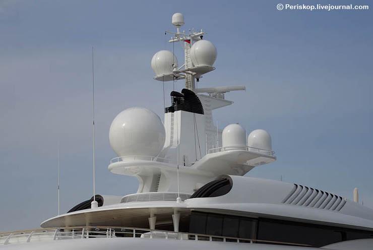 Boat of Roman Abramovich, Russian Rich 17