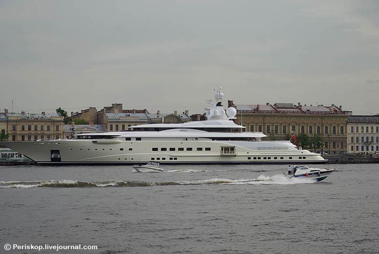 Boat of Roman Abramovich, Russian Rich 3