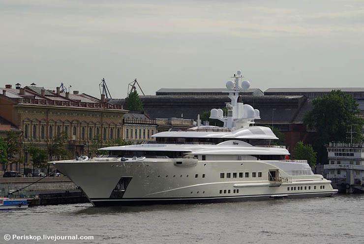 Boat of Roman Abramovich, Russian Rich 6