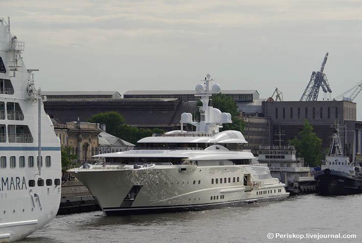 Boat of Roman Abramovich, Russian Rich 8