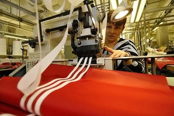 Adidas Made in Russia