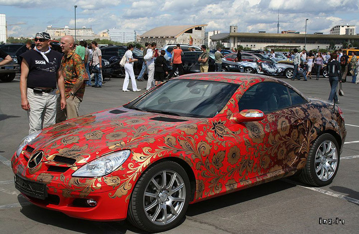 Another Motor Festival in Moscow