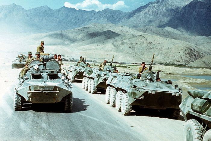 Russian army in Afghanistan 1