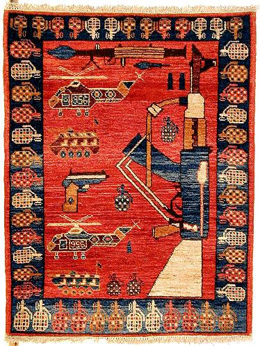 Afghani War Carpets English Russia