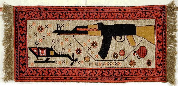 Afghani War Carpets