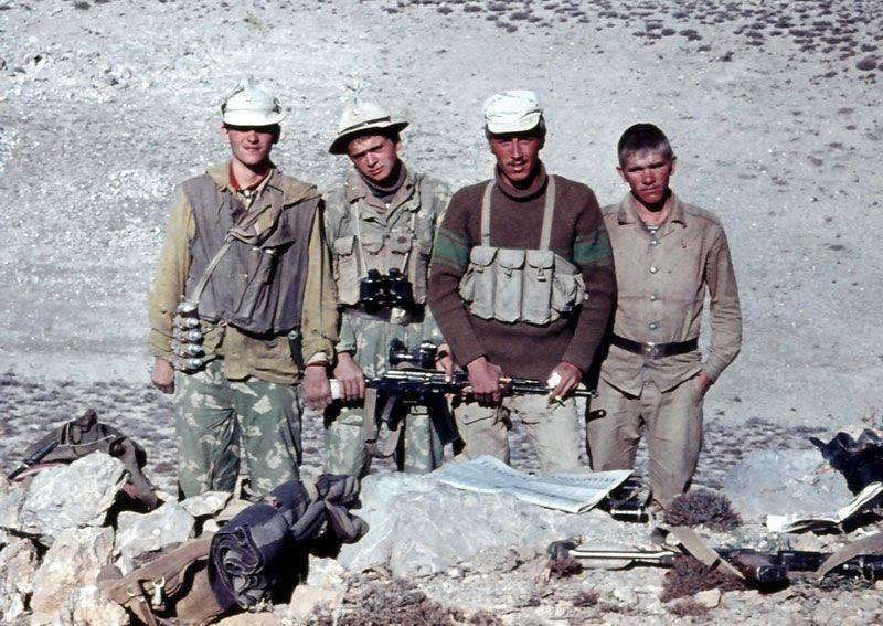 Russian soldiers in Afghanistan 23
