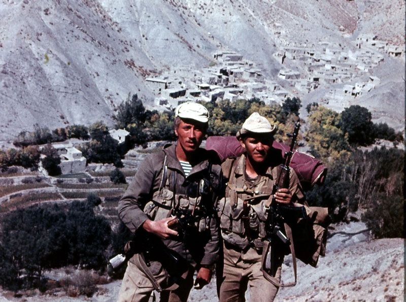 Russian soldiers in Afghanistan 41