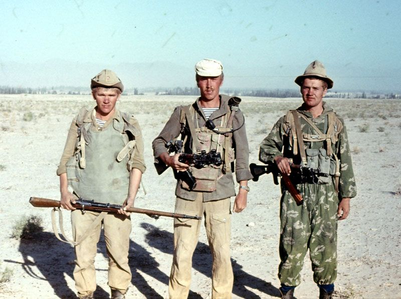 Russian soldiers in Afghanistan 48