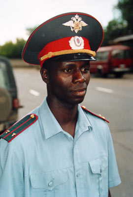 african police in russia