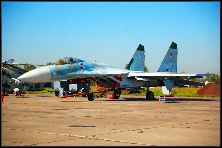 Russian Military Aircraft Show in Monino 23