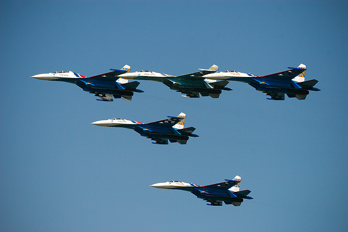 Russian Military Aircraft Show in Monino 53