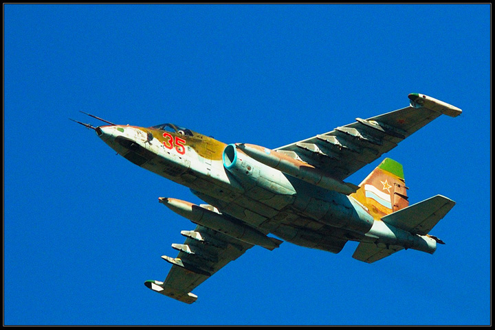 Russian Military Aircraft Show in Monino 75