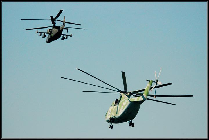Russian Military Aircraft Show in Monino 77