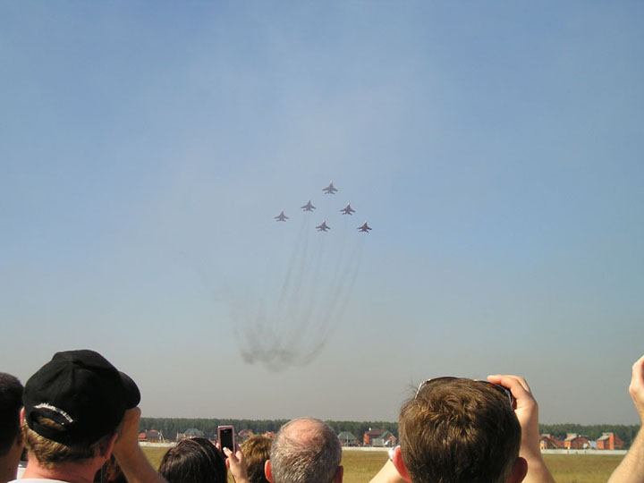 Russian Military Aircraft Show in Monino 82