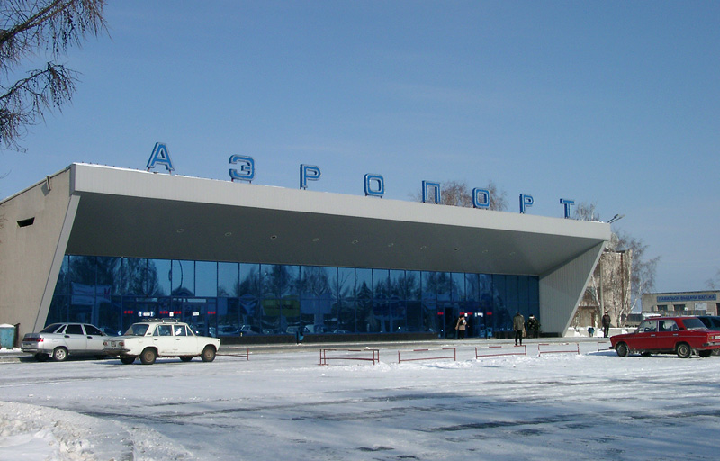 Russian airport Novosibirsk 27