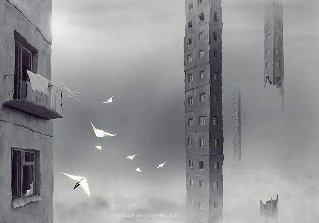 Art by Alex Andreev, Russian artist 2