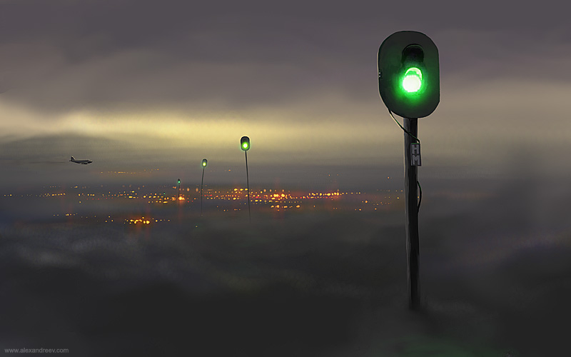 Art by Alex Andreev, Russian artist